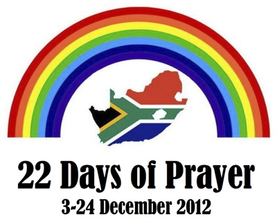 22 Days of Prayer 3-24 Dec 2012